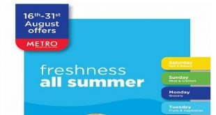 عروض مترو ماركت من 16 اغسطس حتى 31 اغسطس 2020 عروض الصيف
